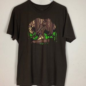 Chewy (Star Wars) Brown T-shirt size Large
